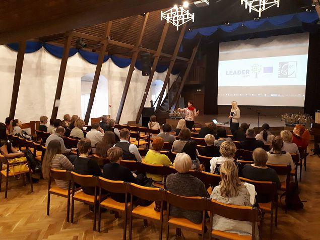 """Peipsimaa koolitusprogramm""""Kiika Peipsimaa kööki"""" seminar"""